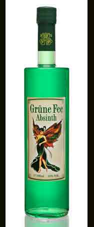 Absinth Grüne Fee bottle
